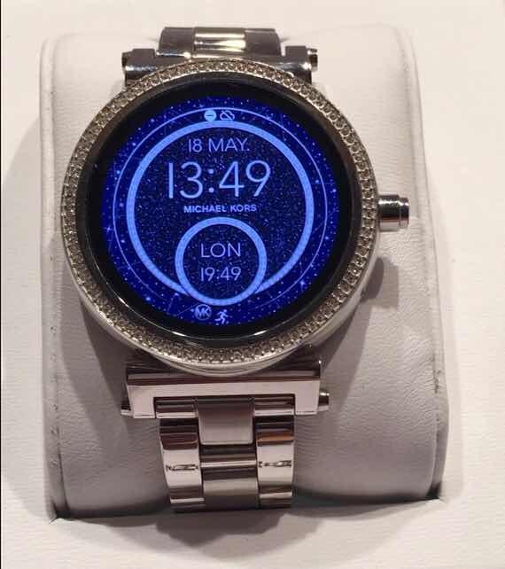 9bb80dd787c6 Reloj Michael Kors Smartwatch Sofie Silver Mkt5020 -   5