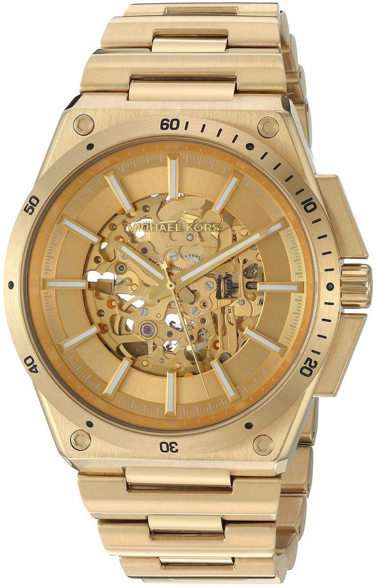 Reloj Wilder Dorado Tono Michael Acero Hombre Mk9027 Kors rBdoCex