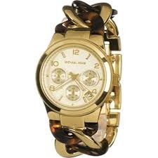 ecd9ffb272a4 Reloj Michael Kors Women s Runway Gold-tone Watch Mk3131 ...
