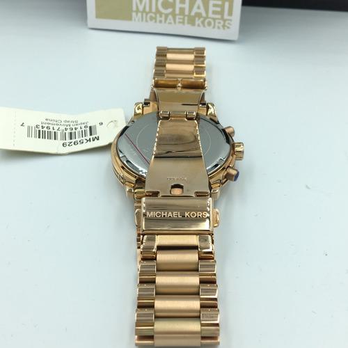 reloj michel kors mk5929 dorado  envi gratis original