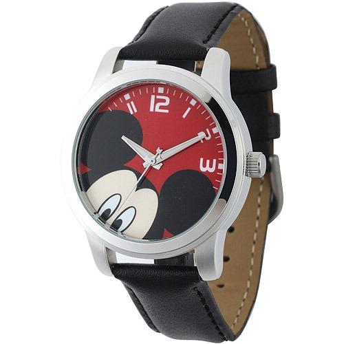 b4c6b646dc8a Reloj Mickey Mouse Disney Para Hombre W001842 Negro -   1