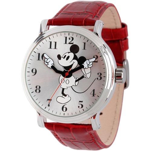 225ff9a55f02 Reloj Mickey Mouse Disney Para Hombre W001864 Rojo -   1