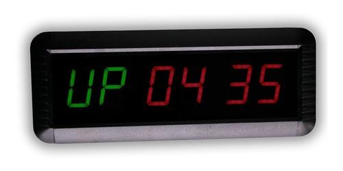 reloj mide intervalos crossfit box tabata - blakhelmet nex