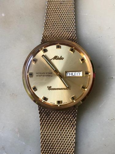 reloj mido commander