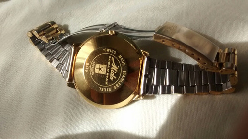 reloj mido commander antiguo