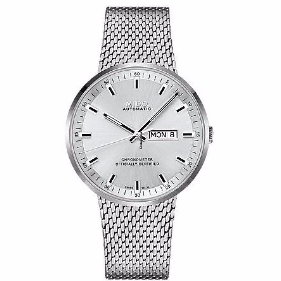198e5c97f0de reloj mido commander il m03163111031 automático plata hombre. Cargando zoom.