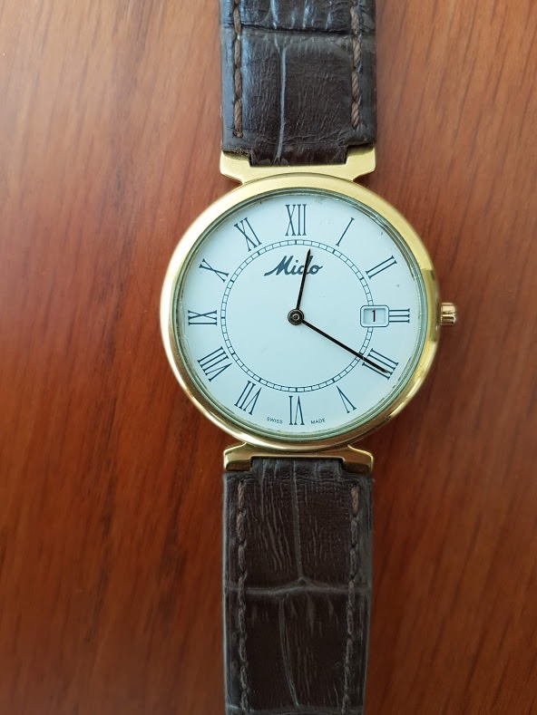 0041fd259110 Reloj Mido Dorada Caballero
