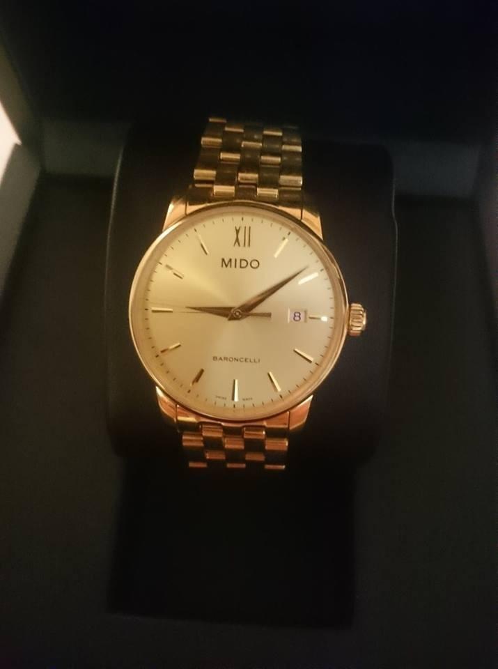a300e17225a9 Reloj Mido Dorado Baroncelli...rado...omega...oris... -   6