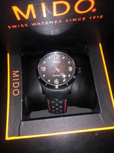 reloj mido multifort adventure m0254073606100 negro