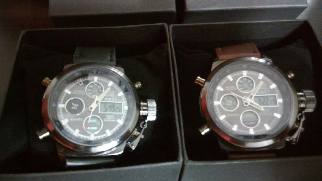 b9d605155db5 reloj militar amst original importado caja accesorio hombre. Cargando zoom.