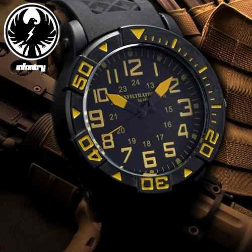 reloj militar marca infantry