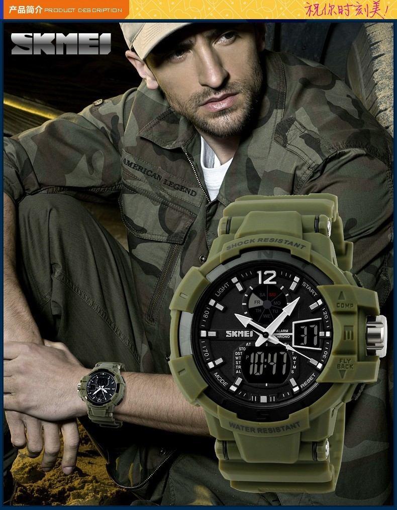 Reloj Militar Marca Skmei S Shock 65 000 En Mercado
