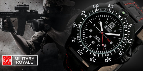 reloj militar military royale