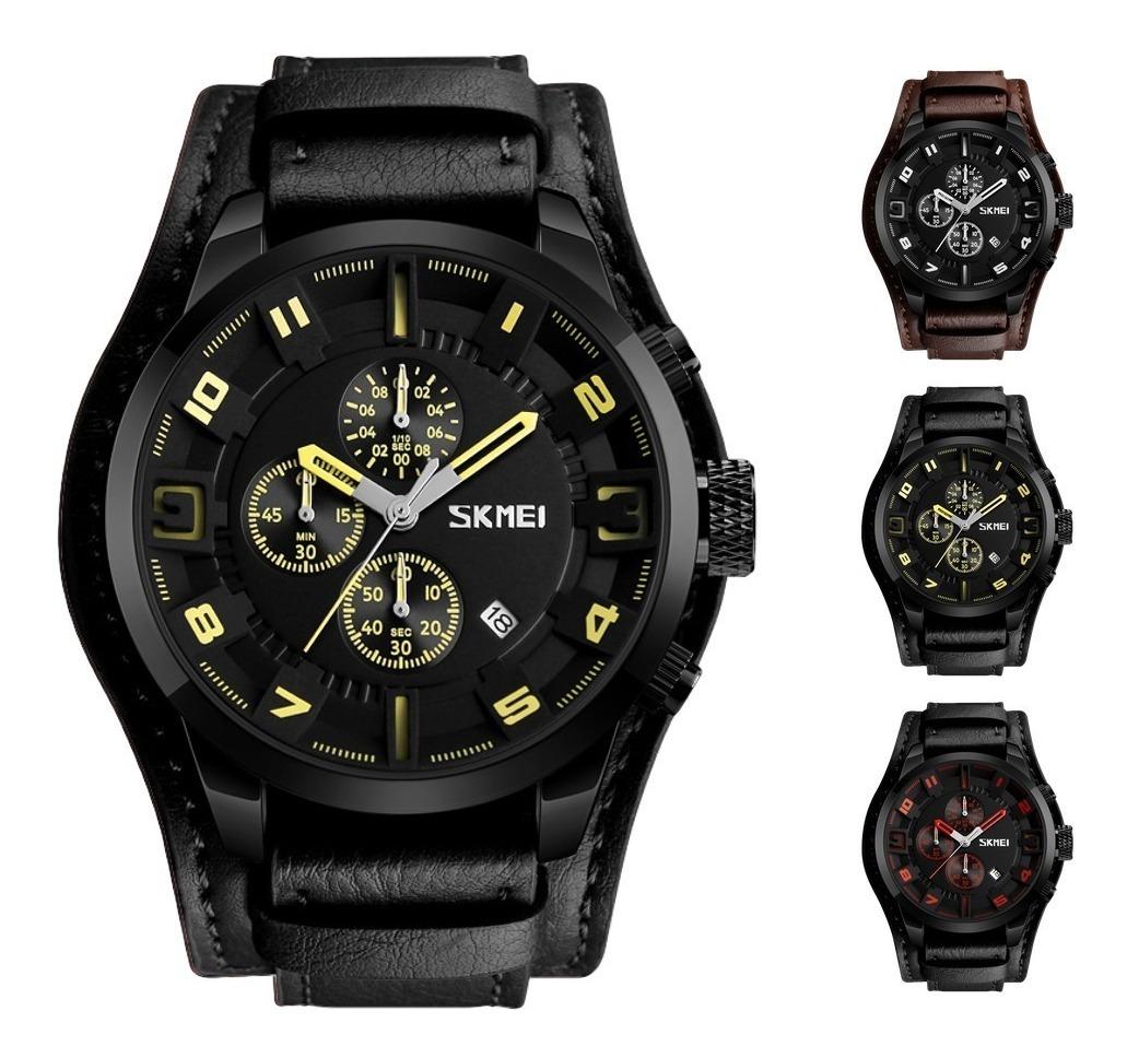 571ee428f reloj militar moderno hombre skmei cronógrafo funcional 9165. Cargando zoom.