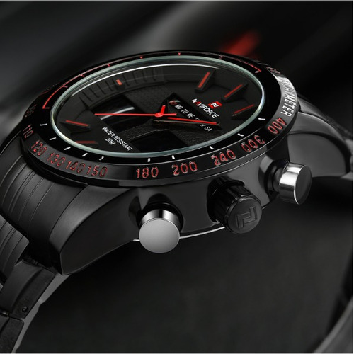 reloj militar naviforce - nf 9024