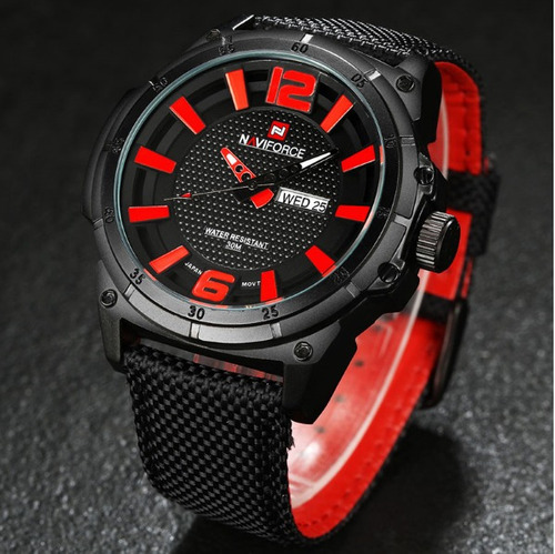 reloj militar naviforce - nf 9066