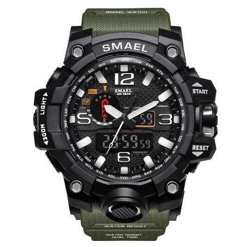 reloj militar smael s shock táctico sumergible 11 colores