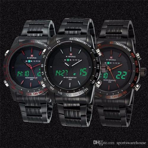 reloj militar urbano naviforce