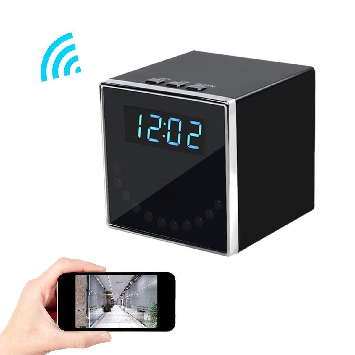 Reloj Mini Cámara Espía Corprit Wifi 1080p Dvr Ios Android