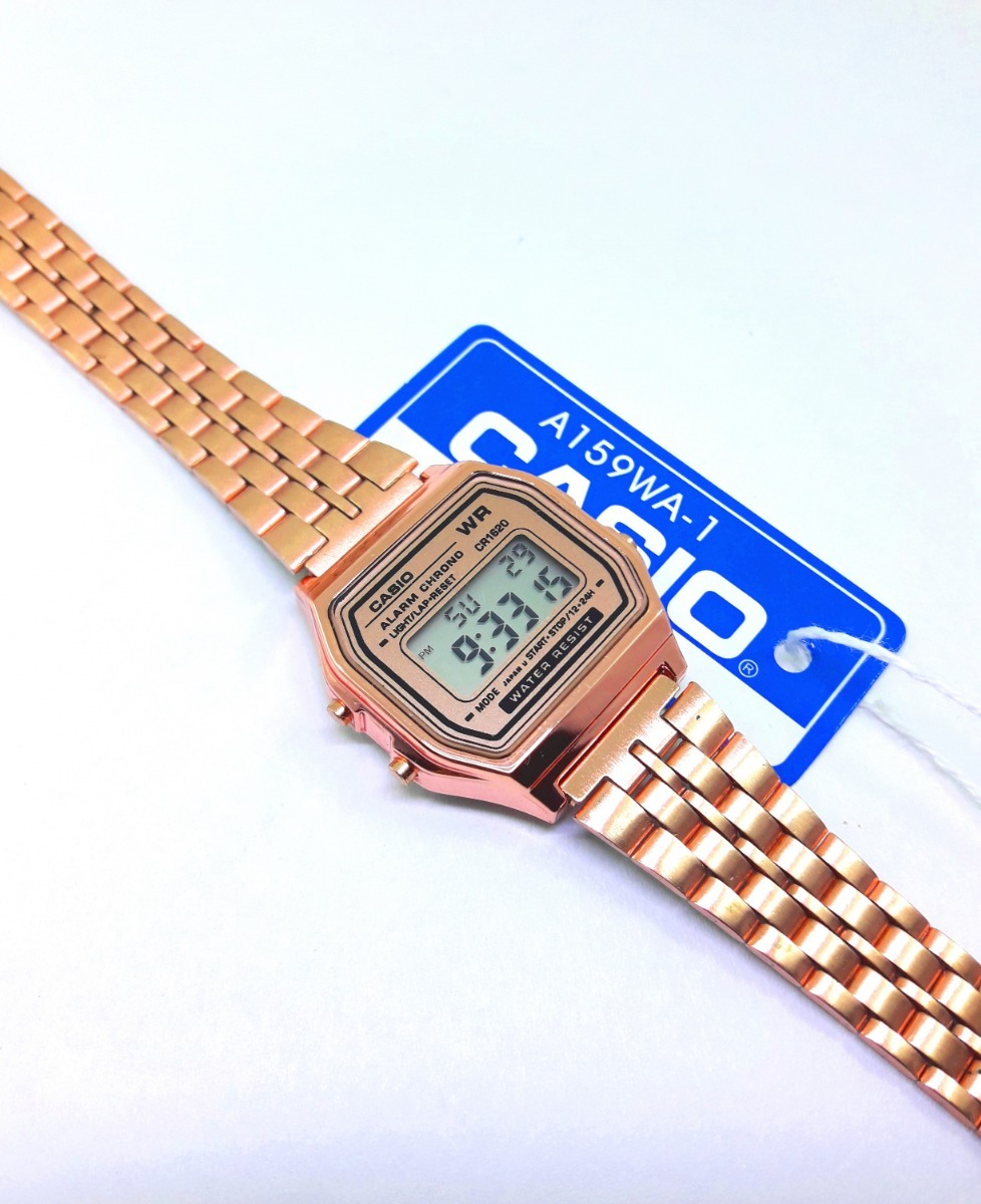 ecfb07424166 Reloj Mini Dama Rosa Dorado Plata Oro Rose Gold Chico -   379.00 en ...