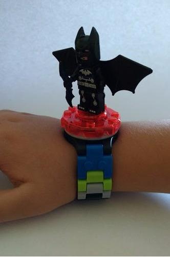 reloj minifigura lego batman armable