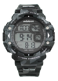 envío gratis 6fa4f f97ff Reloj Mistral Digital Camuflado N (gdg-13609) Agente Oficial