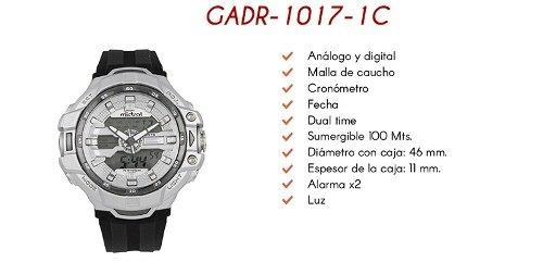 dfce0221c355 Reloj Mistral Análogo Digital Gadr10171c Hombre
