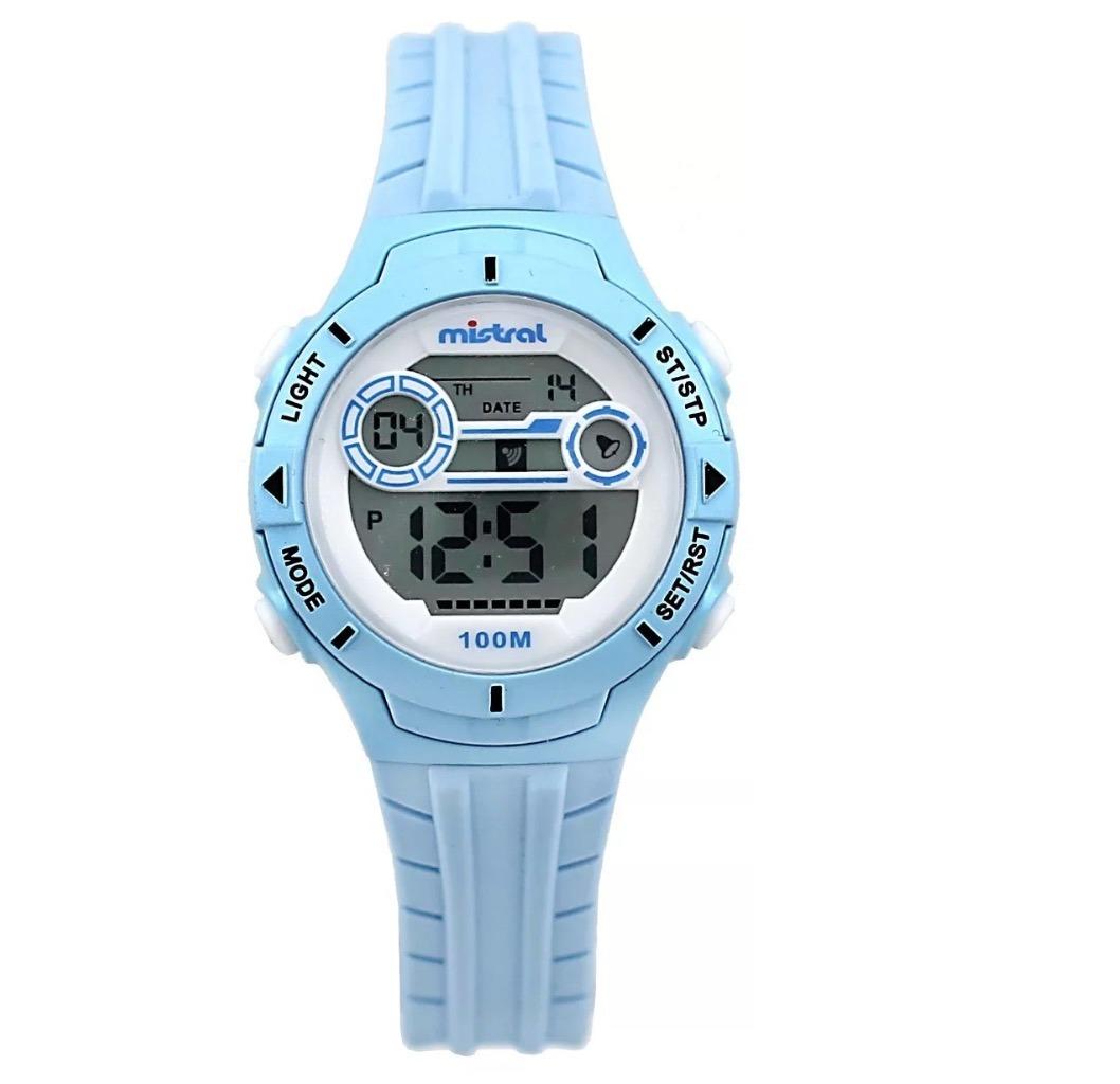 nuevo estilo a6f8b 65674 Reloj Mistral Ldx-ex-02 Hombre Celeste Digital Deportivo