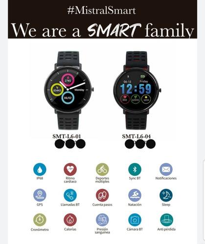 reloj mistral smartwatch smtl601