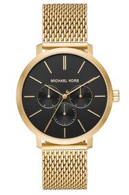 Turquesa Michael Kors Dorado Reloj Azul En W9D2EHI