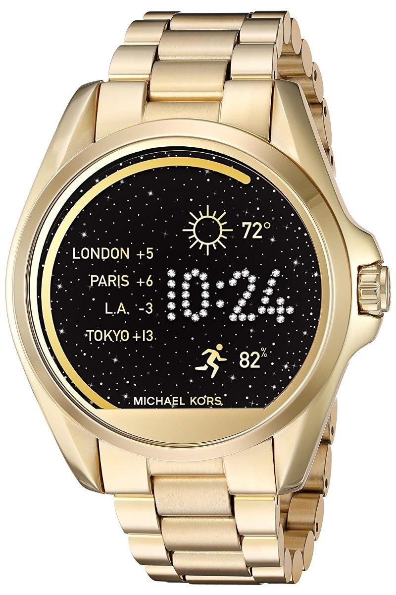 Reloj Mk Smartwatch Michael Kors Dorado Mkt5001 Original