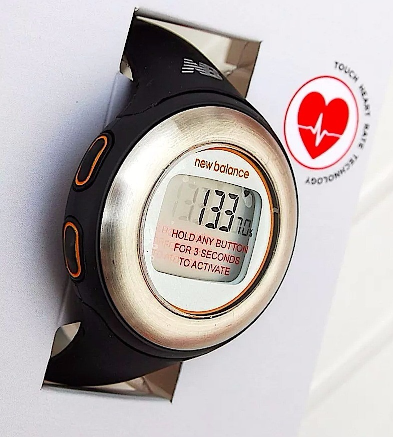 8774d82c559 reloj monitor cardiaco chronograph  calorias new balance sd. Cargando zoom.
