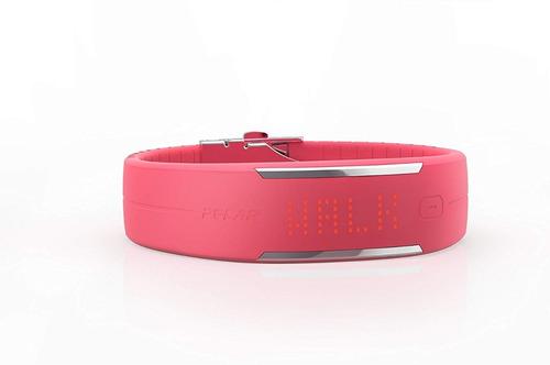 reloj monitor de actividad corporal polar loop 2 rosado