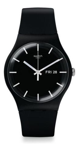 reloj mono black negro swatch