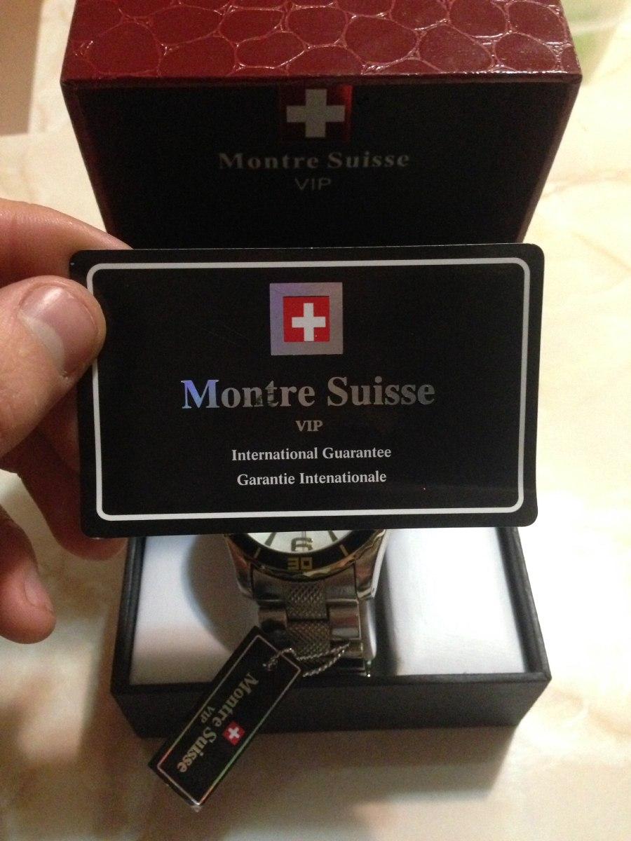 a37c5cfe6b2c reloj montre suisse vip nuevo caballero. Cargando zoom.