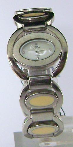reloj montreal dama plateado / marfil garantía 12 meses