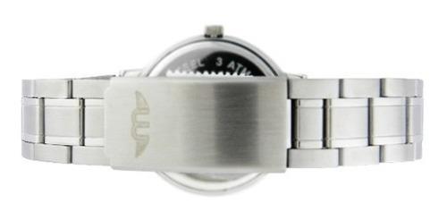 reloj montreal hombre 100% acero ml394 envío gratis sumerg