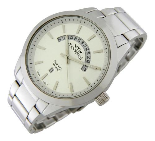 reloj montreal hombre ml199 calendario envío gratis