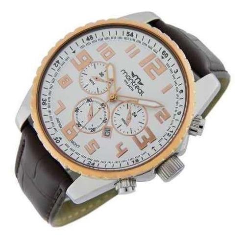 reloj montreal hombre ml518 sumergible envío gratis