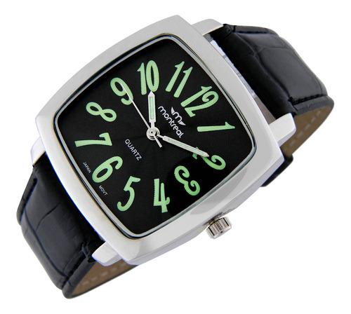 reloj montreal hombre ml739 agujas luminiscentes