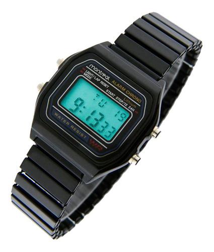 reloj montreal mujer malla elastizada ml020 envio gratis
