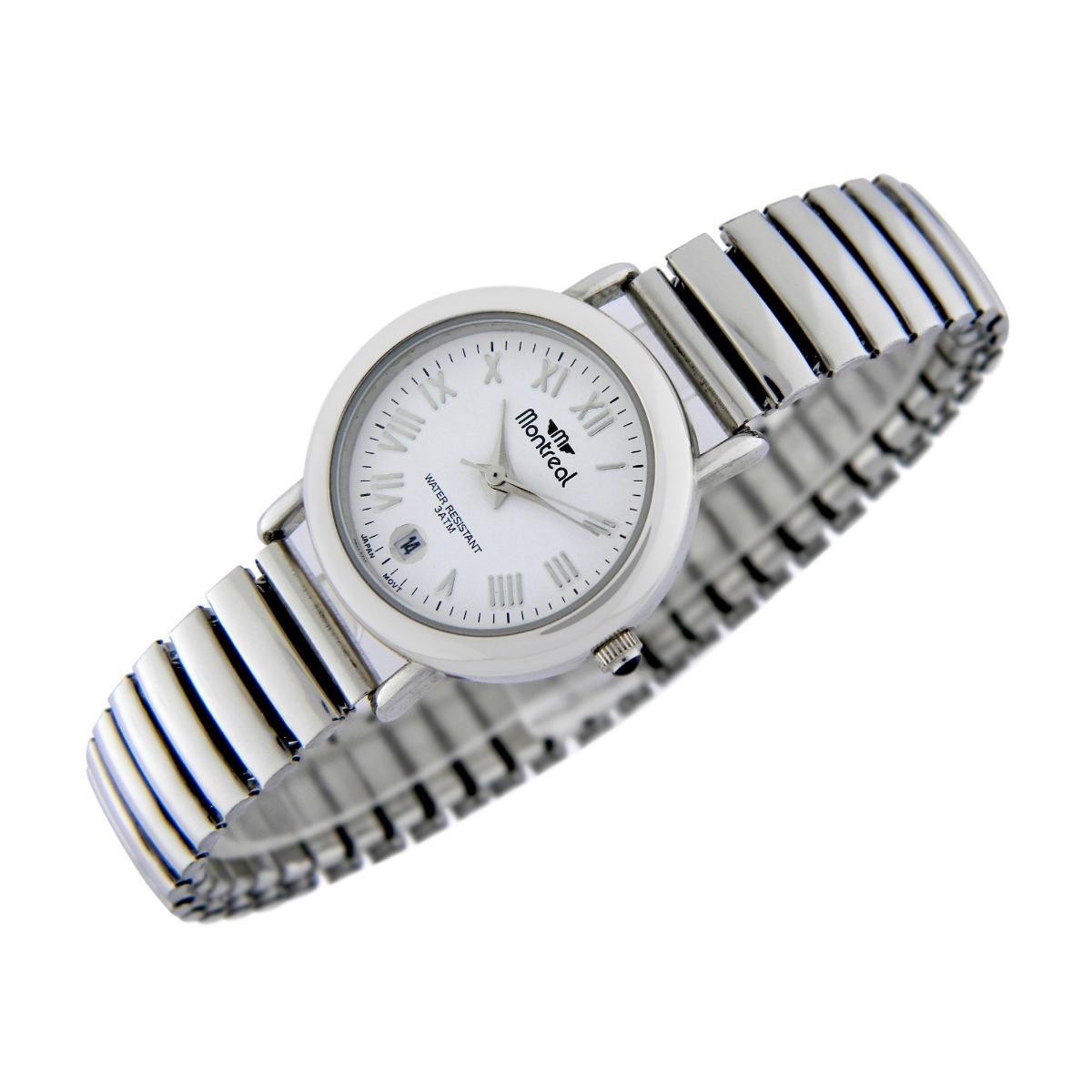 Reloj Montreal Mujer Malla Elastizada Ml322 Envío Gratis -   1.049 ... edfb599309f7