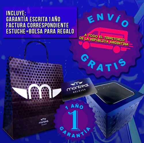reloj montreal mujer ml752 sumerg extrachato envío gratis
