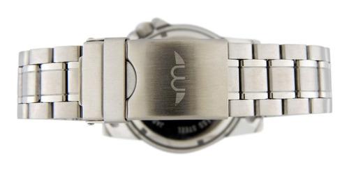 reloj montreal oficial hombre 100% acero ml079 envio gratis