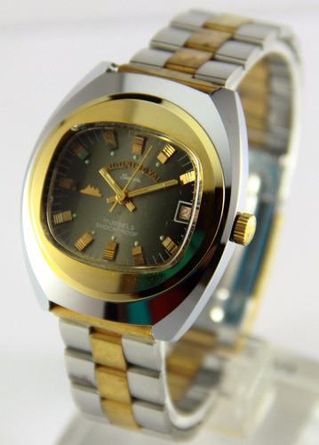 reloj mount royal vintage ´70 nuevos cuerda acero garantia