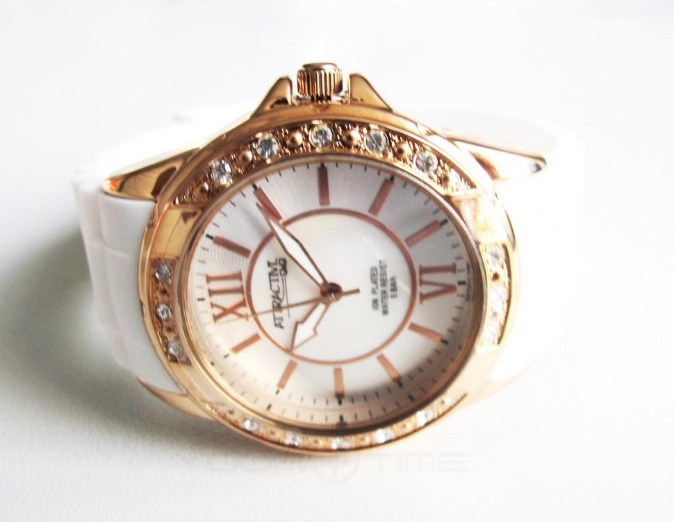 f4acaa2d2259 reloj mujer blanco dorado elegante casual attractive citizen. Cargando zoom.