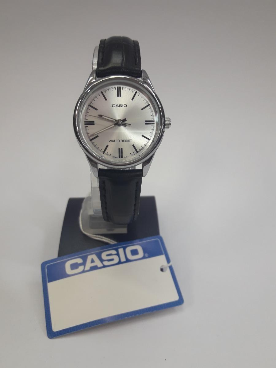 Ltp Mujer Reloj Casio 7aCueroNuevo V005l GLzUVpqSM
