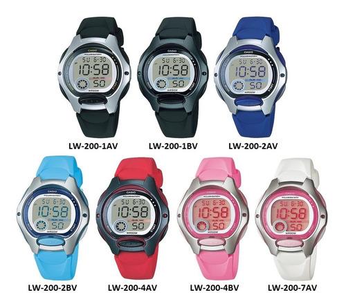reloj mujer casio lw200 pila 10 años original garantizado