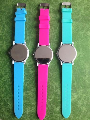 reloj mujer colores casual wrist watch nuevo importado