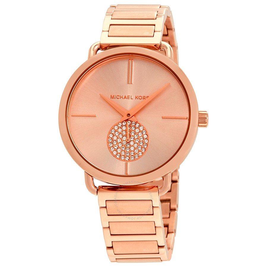 reloj mujer elegante acero oro rosa michael kors 3640. Cargando zoom. 0a3bc0ad4d80